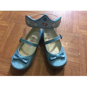 Zapatos Princesas Elsa Anna Blanca Nieves Minnie Coronas