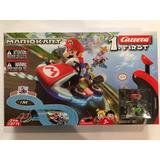 Mario Kart Autopista Electrica Carrera Mario Vs Yoshi First