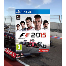 Formula 1 2015 Ps4 Código Psn F1 15 Cod Digital Original 2