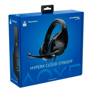 Diadema Kingston Hx Cloud Stinger Ps4 Negro/azul C/mic 3.5mm