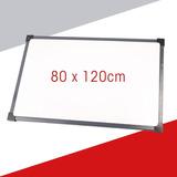 Pizarra Blanca Para Marcador Marco Metal 80x120