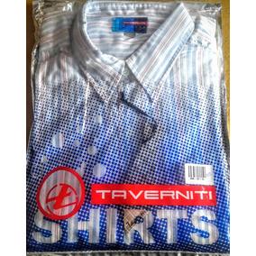 Camisa Hombre Taverniti M/larga Ultima T. 50/52