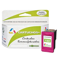 Kit Cartucho Hp 122xl Preto + Xl Color Original Frete Gratis
