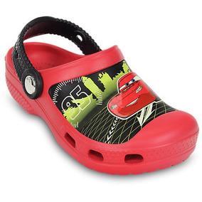 Sandália Infantil Crocs Lightning Mcqueen