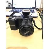 Camara Samsung Nx 2000 Con Lente 20-50mm