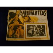 Las Mañanitas Esther Fernandez Lobby Card Cartel Poster A