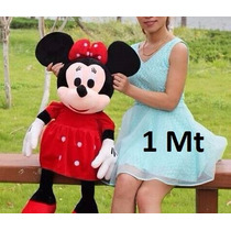 Boneco Pelucia Minnie Mouse Disney 1mt Gigante Antialergico