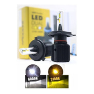 Led Dual Color Shocklight H1 H3 H4 H7 H8 H11 H16 H27 Hb3 Hb4