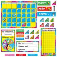 8097 Calendario Educativo Escolar Español 106 Piezas Trend