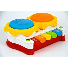 Xilofón Electrico Baby Pot Drum Instrumento Musical Bebes