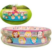 Piscina Inflável Princesas Disney Infantil 70 Litros Etitoys