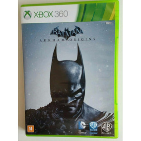 Xbox 360 - Jogo Batman Arkham Origins - 2 Dvds - Seminovo!