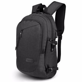 Mochila Backpack Antirrobo Resistente Agua Audifono Laptop