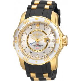71514d713f1 Relógio Invicta 6995 Pro Diver Banhado A Ouro 18k Lindo - Relógios ...