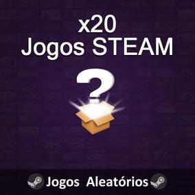 20 Jogos Steam Key - Aleatórios - Random Key Pc Chaves Joguz