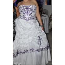Vestido De Novia Bordado Con Lentejuelas