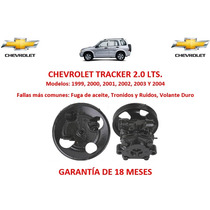 Bomba Licuadora Direccion Hidraulica Chevrolet Tracker 1999