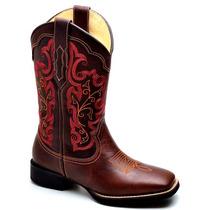 Bota Coturno Feminina Country Texana Montaria Cavalaria Cour
