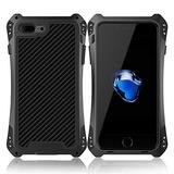 Iphone 7 Plus Case, Ddj Aluminio Metal Gorilla Cristal De S