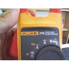 Amperimetro De Gancho Marca Fluke 376 Clampmeter, Usado