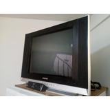 Televisor Samsung 29 Pulgadas Pantalla Plana Con Control Rem