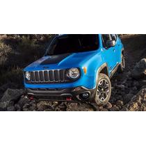 Faixa Adesiva Do Capô Jeep Renegade Esportiva Blackout