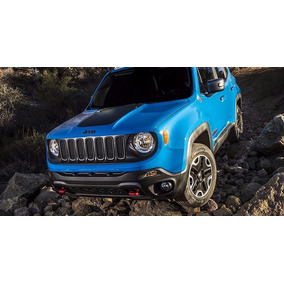 Faixa Adesiva Do Capô Jeep Renegade Esportiva Blackout