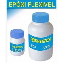 Resina Epoxi Cristal Flexível Para Brindes Kit Com 1,5kg
