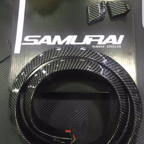Aleron Cola Baul Carbon Samurai 3.5 Cm X 1.8 Cm