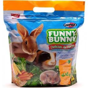 Ração Funny Bunny Delícias Da Horta 1,8kg Fardo C/ 4 Pacotes