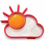 Molde Silicona Para Huevos Sol Nube Desayuno Regalo Original