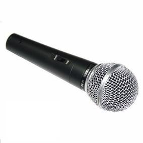 Microfone Profissional Com Cabo M 58 Único Sm 58