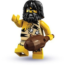 Lego Minifigures Series 1 Caveman 8683 Original