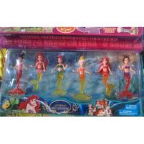 Miniaturas Pequena Sereia Filme Disney Ariel Princesas