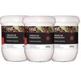 Kit 3 Creme Massagem Pimenta Negra 650g Dagua Natural