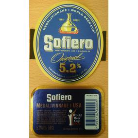 Etiqueta Cerveza Sofiero - Suecia (nueva)