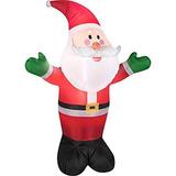 Muñeco Inflable Airblown Hinchables De Navidad Santa Claus