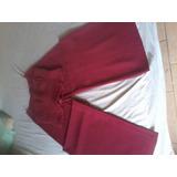 Elegante Conjunto Para Damas, Pantalón Y Corset, Talla S