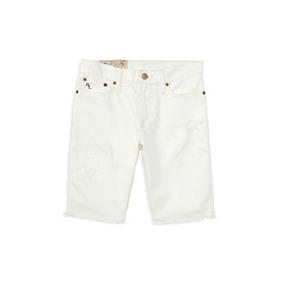 Shorts De Jeans Polo Ralph Lauren Niña Talla Us8 (8 Años)