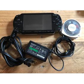 Playstation Psp Fat Negro Con Juegos 2gb Ape Escape Metal