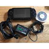 Playstation Psp Fat Negro Con Juegos 2gb Ape Escape Metal