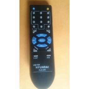 Control Remoto Tv Televisor Convencional Hyundai Riviera