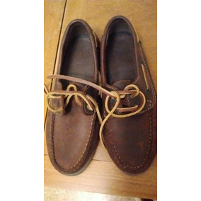 Zapatos Náuticos Colegial Nro 37
