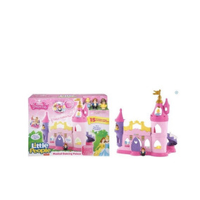 Castillo Musical Little People Fisher Price Disney Princess