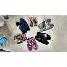 Zapatos Moda Peluche Gamuzados.