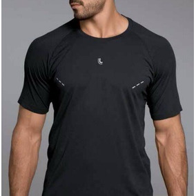 Camiseta Fitness New York Lupo Masculina Detalhes Refletivos