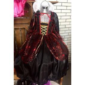 Disfraz De Dracula Niña Vampira Catrina Bruja