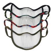 4 Tapabocas Barbijos Cubrebocas Transparentes