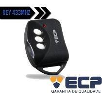 Controle Remoto Key Ecp Alarme E Portão Eletrônico 433,92mhz