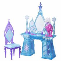 Peinador Tocador Para Muñecas Con Accesorios Disney Frozen